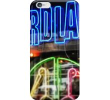 Birdland Neon, NYC iPhone Case/Skin