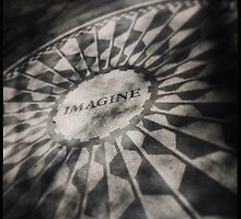 Imagine, Strawberry Fields NYC by crashbangwallop