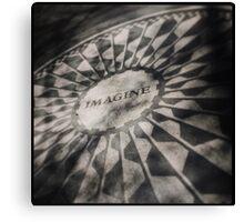 Imagine, Strawberry Fields NYC Canvas Print