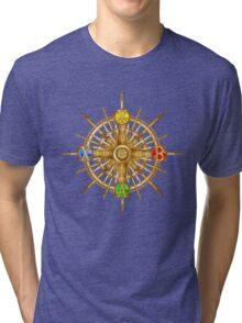 XBOX Gamer's Compass - Adventurer Tri-blend T-Shirt