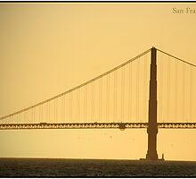 Golden Gate  by Melinda  Ison - Poor