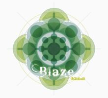 Kidult T-shirt Blaze Poi Compound Circles Flowers 2 by Kidult