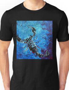 Scorpius - black and blue scorpion  Unisex T-Shirt