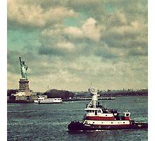 Liberty Island, New York City Photographic Print