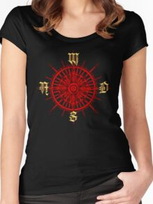 PC Gamer's Compass - Adventurer Women's Fitted Scoop T-Shirt