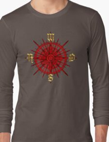 PC Gamer's Compass - Adventurer Long Sleeve T-Shirt