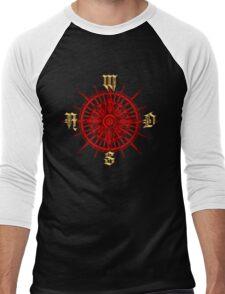 PC Gamer's Compass - Adventurer Men's Baseball ¾ T-Shirt
