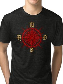 PC Gamer's Compass - Adventurer Tri-blend T-Shirt