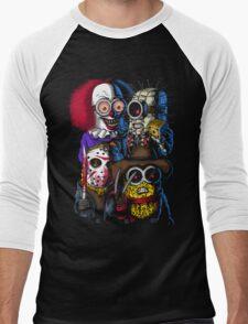 Mini Evil Parody Men's Baseball ¾ T-Shirt
