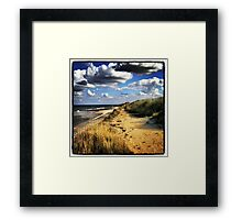 East Coast, Norfolk UK Framed Print