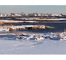 Jamaica Bay Wildlife Refuge Photographic Print