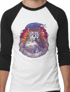 Muertos Parody Men's Baseball ¾ T-Shirt