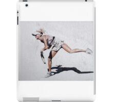 Tennis Player iPad Case/Skin