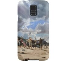 Beach Scene - Cornwall Samsung Galaxy Case/Skin