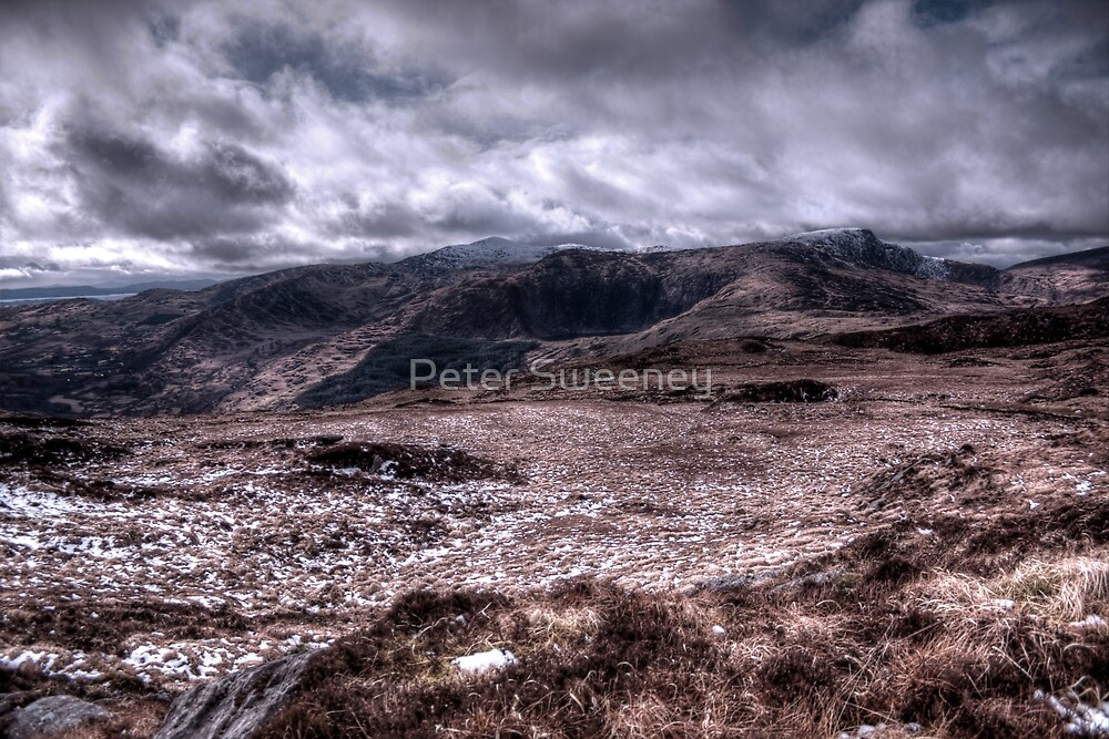 Deerrencollig Landscape by Peter Sweeney