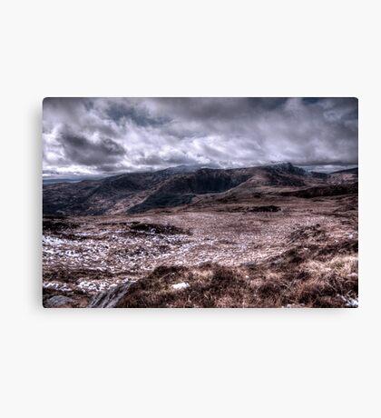 Deerrencollig Landscape Canvas Print