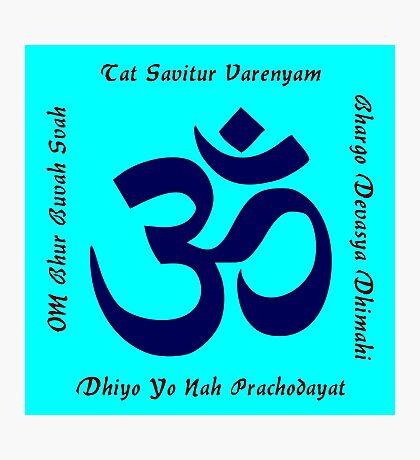 Gayatri Mantra Photographic Print