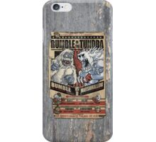 Rumble in the Tundra Parody iPhone Case/Skin