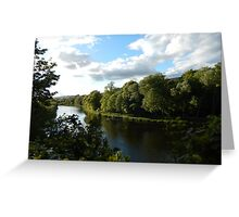 The Tweed at Melrose - late May Greeting Card