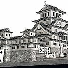 Himeji Castle by Isaac Root