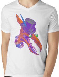 Aquarius Pterry Mens V-Neck T-Shirt