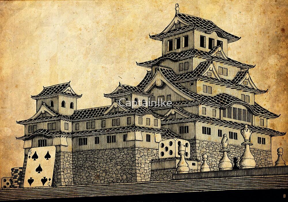 Himeji Castle (Parchment) by CaptainIke