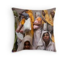 Free Food. Vrindavan Throw Pillow