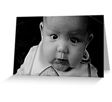 6 months old Greeting Card