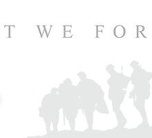 White Lest we forget by SpadixDesign