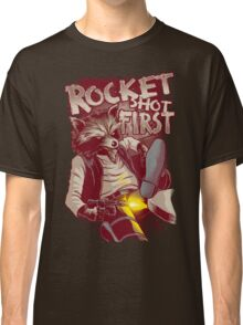 First Shot Parody Classic T-Shirt