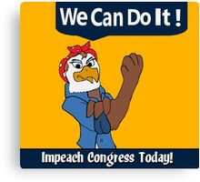 We Can Do It!!!! Canvas Print