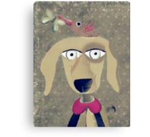 Mein Hund ist schwul Canvas Print