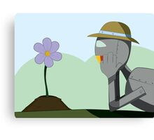 May Robot Canvas Print