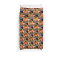 iPhone Fruit and Vegetables Duvet Cover