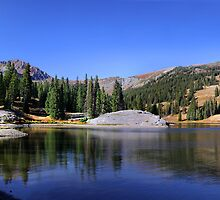 Scenic landscape in colorado by snehit