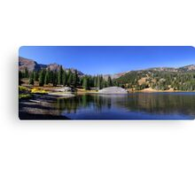 Scenic landscape in colorado Canvas Print