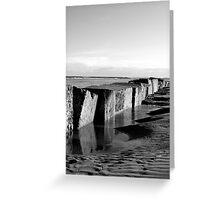 Sea Blocks Greeting Card