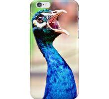 Peacock, hear me roar! iPhone Case/Skin