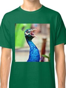 Peacock, hear me roar! Classic T-Shirt
