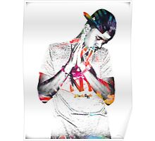 J.Cole - Tye Dye Poster