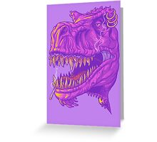 Stoner Rex Greeting Card