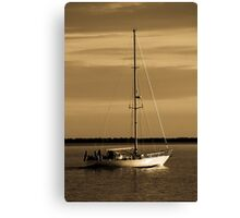 Out To The Wind Canvas Print