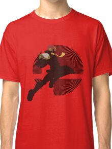 Captain Falcon (Smash 4, Knee of Justice) - Sunset Shores Classic T-Shirt
