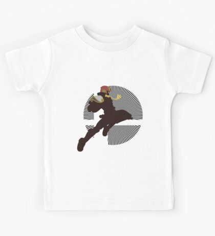 Captain Falcon (Smash 4, Knee of Justice) - Sunset Shores Kids Tee