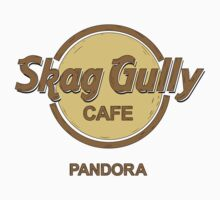 Skag Gully Cafe (undistressed) Baby Tee