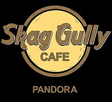Skag Gully Cafe (undistressed) by spazzynewton