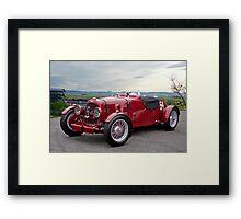 1938 Aston Martin Vintage Racecar Framed Print