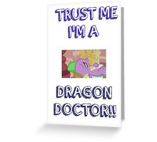 Dragon Doctor 3 Greeting Card