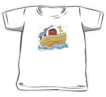 See Saw Over The Waves Kids Tee