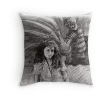Nancy's Nightmare Throw Pillow